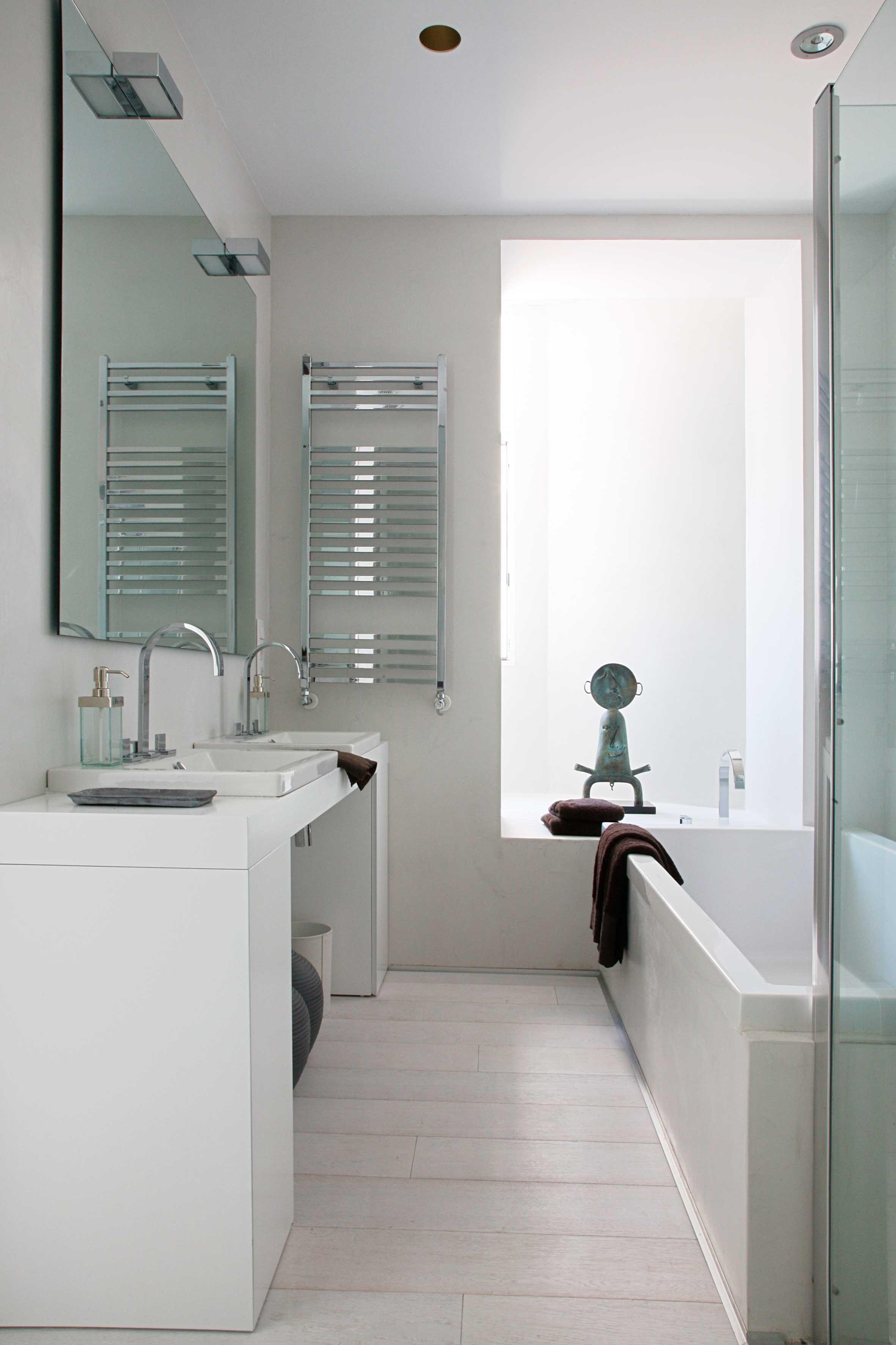 Reforma integral residencial privado - Baño