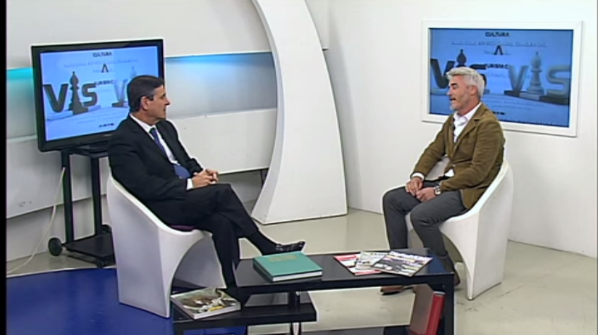 Entrevista en Canal 7, programa Vis a Vis