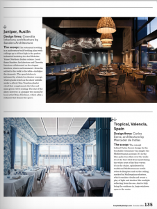 Restaurantes elegidos como los más decliciosamente decorados del mundo